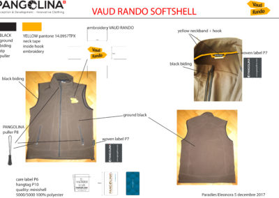 VAUD RANDO SOFTSHELL