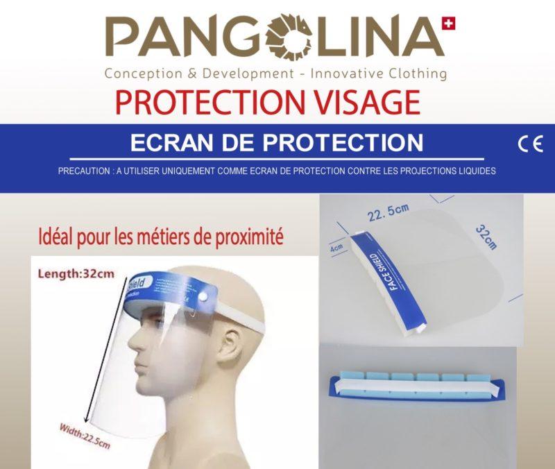 Ecran de protection ultra léger, anti-buée, anti-reflet. COVID-19
