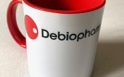Des tasses personnalisées pour Debiopharm